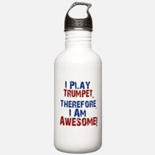 I Play Trumpet Water Bottle