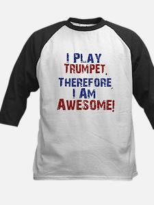 I Play Trumpet Baseball Jersey
