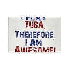 I Play Tuba Magnets