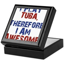 I Play Tuba Keepsake Box