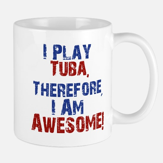 I Play Tuba Mugs