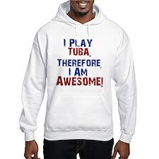 I Play Tuba Hoodie