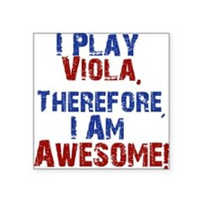 I Play Viola Sticker
