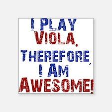 I Play Viola Sticker