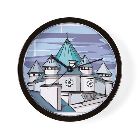 Castle at Night Wall Clock