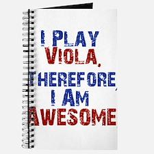 I Play Viola Journal
