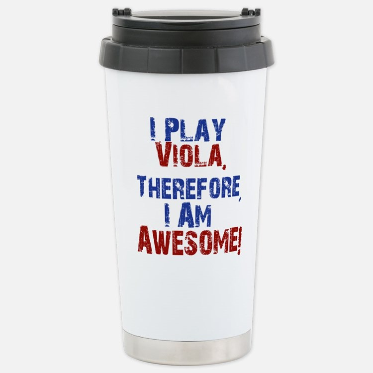 I Play Viola Travel Mug