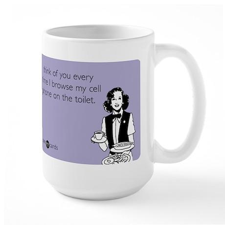 Courtesy Hello Large Mug