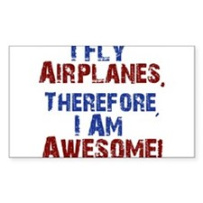 I fly airplanes Decal
