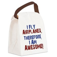 I fly airplanes Canvas Lunch Bag