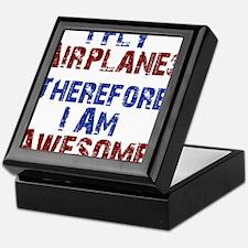 I fly airplanes Keepsake Box
