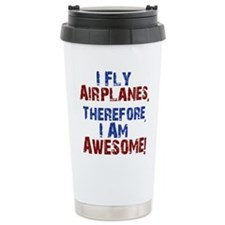 I fly airplanes Travel Mug