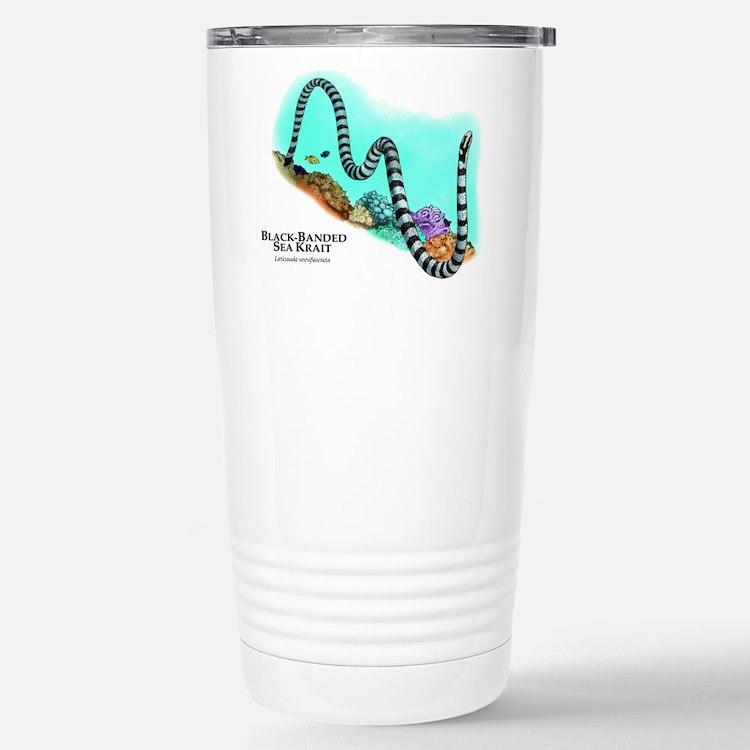 Black-Banded Sea Krait Travel Mug