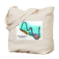 Black-Banded Sea Krait Tote Bag