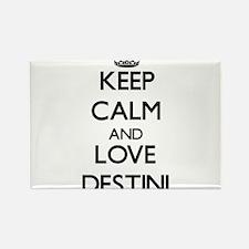 Keep Calm and Love Destini Magnets