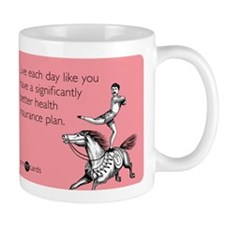 Live Each Day Small Mugs