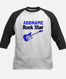 LOVE ROCK N ROLL Kids Baseball Jersey