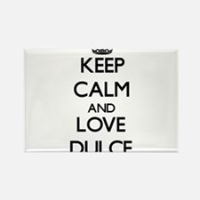 Keep Calm and Love Dulce Magnets