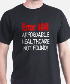 Error 404! T-shirt Not Found! T-Shirt