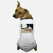 Mommy and Baby Ducks Dog T-Shirt