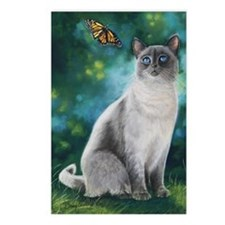 CatBluePointSiamese Postcards (Package of 8)