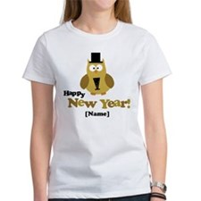 Personalized New Years Owl T-Shirt