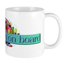 Jelly Bean on Board Coffee Mug