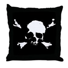 Scalawag 1a-bw Throw Pillow