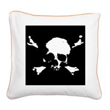 Scalawag 1a-bw Square Canvas Pillow