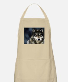 Wolf with Red Eyes Apron