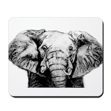 Original Art Elephant Mousepad