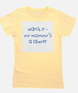 My Mommy's a Lawyer Girl's Tee