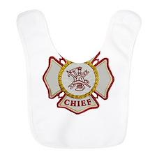 Fire Chief Maltese Bib