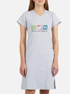 Peace, Love, Basenjis T-Shirt