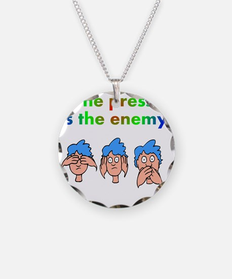 press-is-enemy Necklace