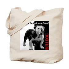 little-friend3-dark Tote Bag