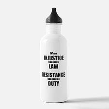 RESISTANCE Water Bottle