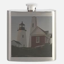 Pemaquid Bell House Keepsake Box Flask