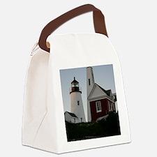 Pemaquid Bell House Keepsake Box Canvas Lunch Bag