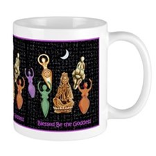 Blessed be the Goddess Mug