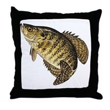 crappie-image Throw Pillow