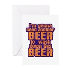 More BEER Please Greeting Cards (Pk of 10)