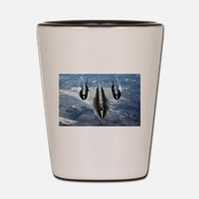 Blackbird SR-71A Shot Glass