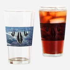 Blackbird SR-71A Drinking Glass