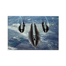 Blackbird SR-71A Rectangle Magnet