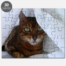 Bengal in White Puzzle