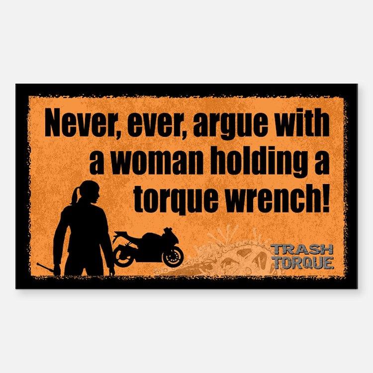Never Argue Decal