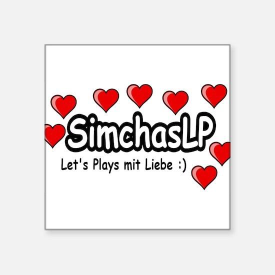 SimchasLP Hearts / SimchasLP Herzen Sticker