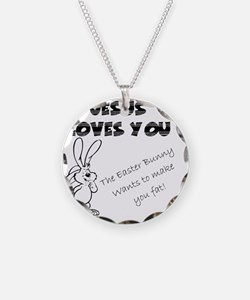 Easter Bunny 2 Necklace