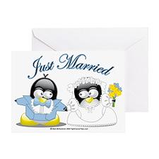 Penguin-Wedding Greeting Card